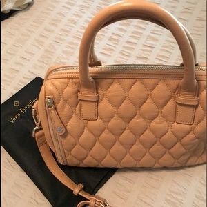 Vera Bradley leather Marlo satchel